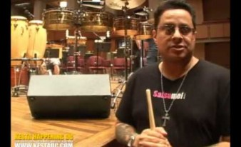 Tito Puente Jr. Sound Check @ The Kennedy Center Washington DC Kesta Happening (KestaDC.com)