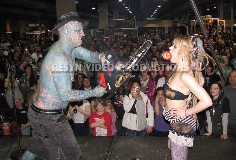 Like a virgin at the philadelphia tattoo convention for Tattoo convention pa