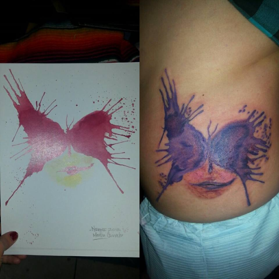 Watercolor Tattoo Nebsi One